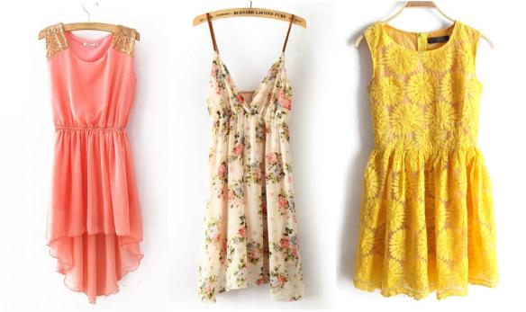 Dress selection!